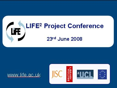 LIFE2 Conference Presentations